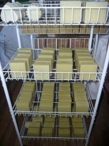 séchage savons